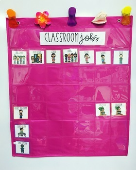 Colorful Classroom Jobs