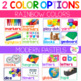 Colorful Classroom Labels with Photographs