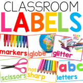 Classroom Labels   Real Photographs