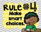 Colorful Classroom Rules Posters