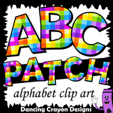 Colorful Clip Art Alphabet Letters for Cover Pages and Bulletin Boards