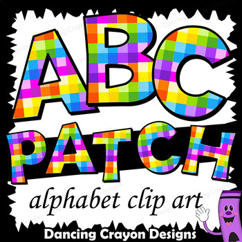 Colorful Clip Art Alphabet Letters for Cover Pages and Bul