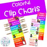 Colorful Clip Charts