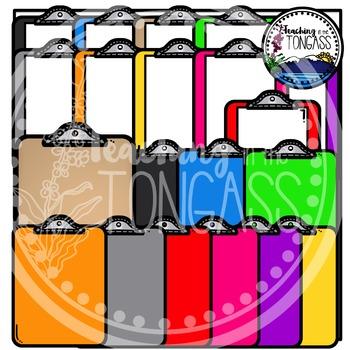 Clipboards Clipart (School Clipart)