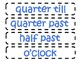 Colorful Clock Labels- Colorful Dot background