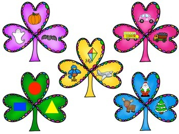 Colorful Clover Categories