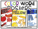 Colorful Color Word Posters (Clean and Bright)