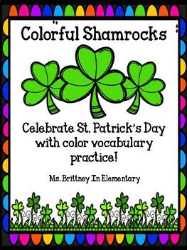 Colorful Coloring Shamrocks