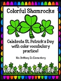 Colorful Coloring Shamrocks