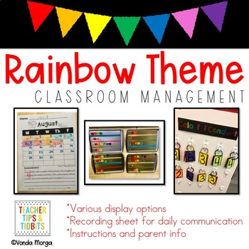 Colorful Conduct Classroom Behavior System