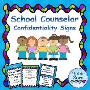 Colorful Confidentiality Statements