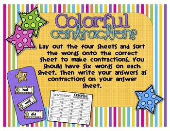 Colorful Contractions