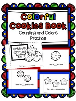 Colorful Cookies - Counting and Colors Practice