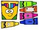 Colorful Counting Back to School Numbers 1-20 Kindergarten Preschool Math