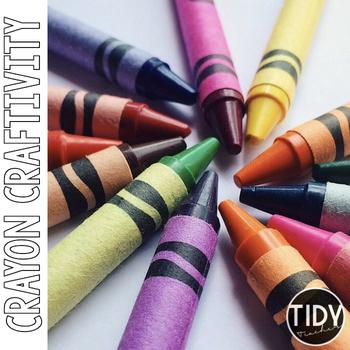 Colorful Crayon Craftivity