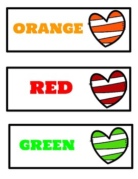 Colorful Crayon Drawer Labels- 2 different designs!!