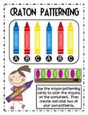 Colorful Crayon Patterning