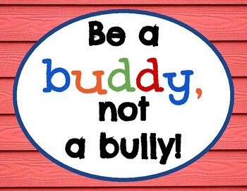 Colorful Crayons *Kindness & Anti-Bullying Posters* (12 total)