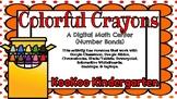 Colorful Crayons (Number Bonds)-A Digital Math Center (Com