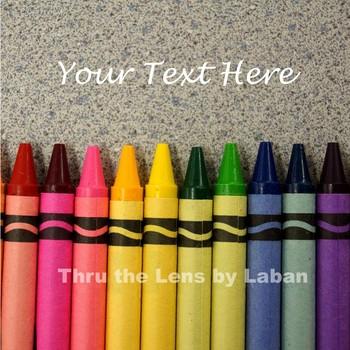Crayons Stock Photo #128