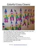 Colorful Crazy Clowns