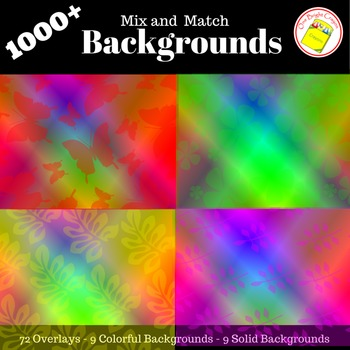 Backgrounds  -  Decorative, Colorful, Creative, and Fun