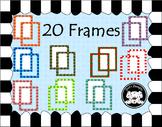 Colorful Curvy Frames ~ Boarders