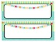 Colorful Desk Tags-4 Options