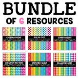 Colorful Digital Paper Bundle 1