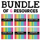 Colorful Digital Paper Bundle 2