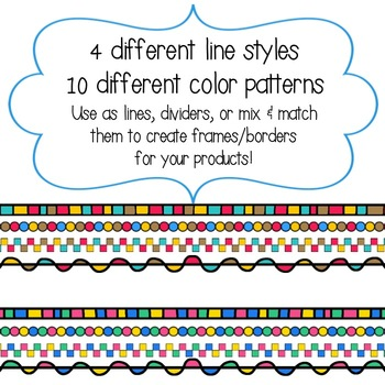 Colorful Dividers