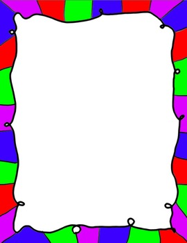Colorful Doodle Borders!