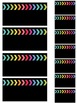 Colorful Dot Black Version Teacher Toolbox and Drawer Labels {Editable}