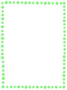 Colorful Dot Borders