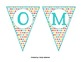 Colorful Dot Welcome Banner