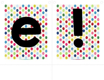 Colorful Dots Banner - Welcome