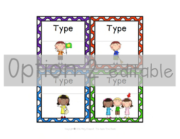 Classroom Jobs Cards {Editable} Colorful Dots