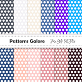 Colorful Dots Digital Papers