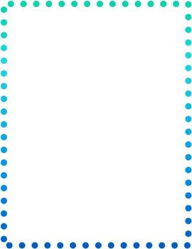 Colorful Dotted Borders - Free