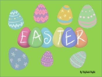 Colorful Easter Egg Clip Art