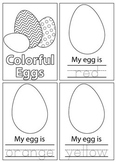 Colorful Easter Eggs Book (Trace and Color)