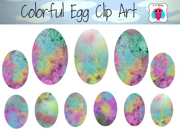 Colorful Egg Clip Art