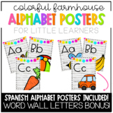 Colorful Farmhouse Alphabet Posters