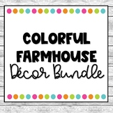 Colorful Farmhouse Decor Pack