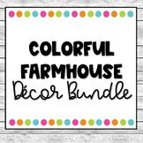 Colorful Farmhouse Decor Pack