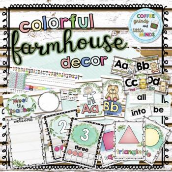 Colorful Farmhouse Decor Bundle