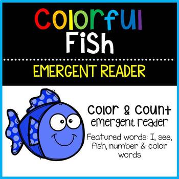 Colorful Fish Emergent Reader