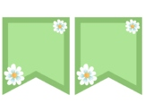 Colorful Flower Banners