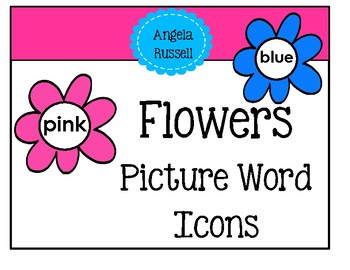 Picture Words - Colorful Flowers