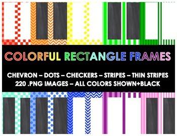Colorful Frames (220 Different Frames)